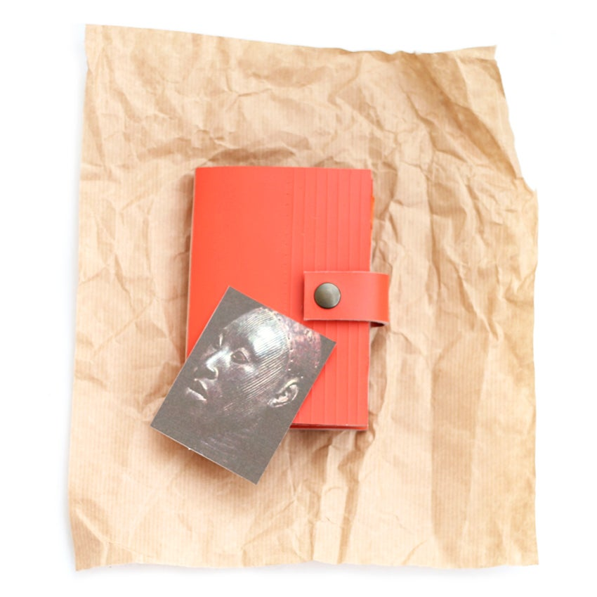 Image of Alagbede notebook - orange