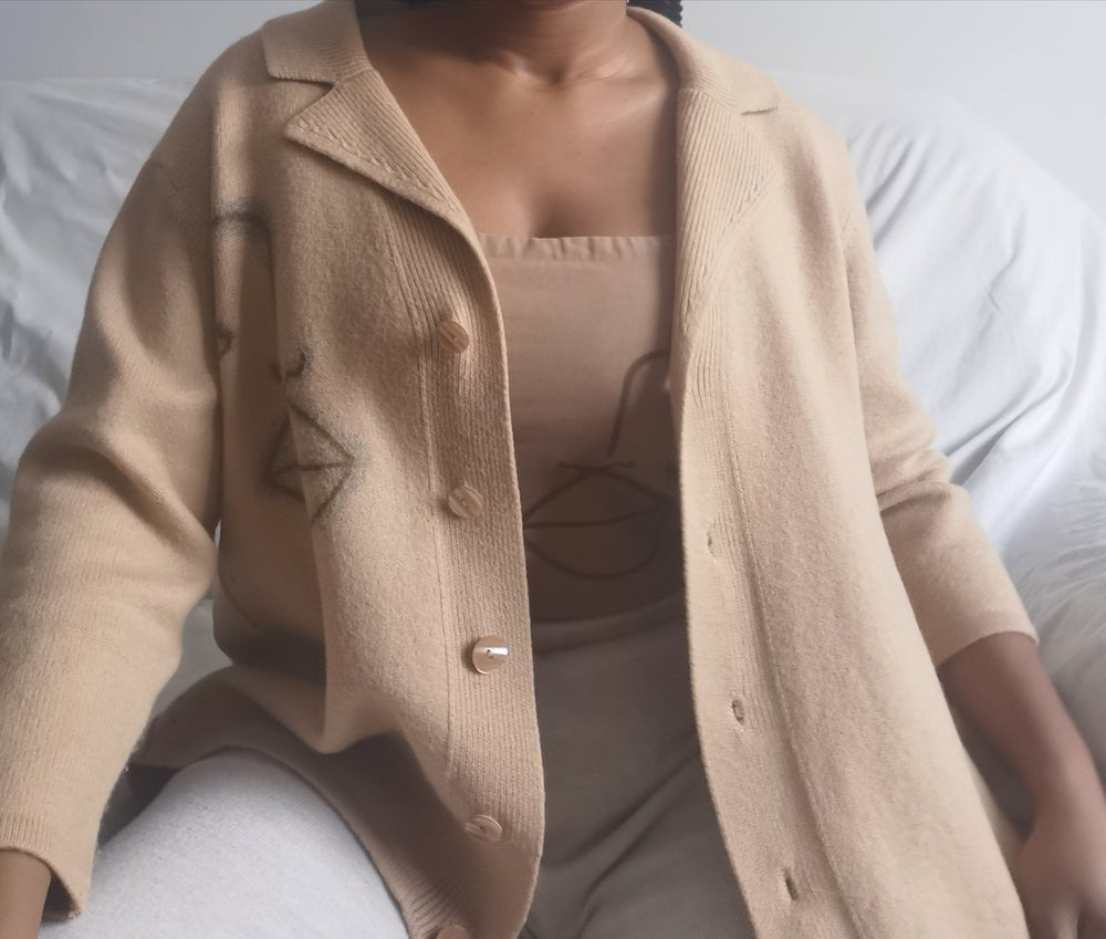 Image of boss up cardigan