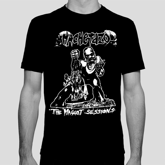 "Image of MACHETAZO ""The Maggot Sessions"" T-SHIRT"