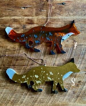 Image of Resin Fox Ornament