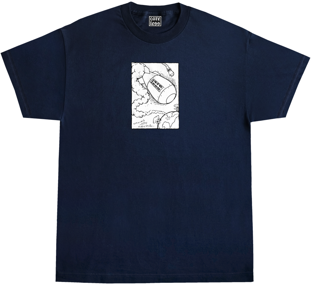 Image of NUKE SHIRT - NAVY