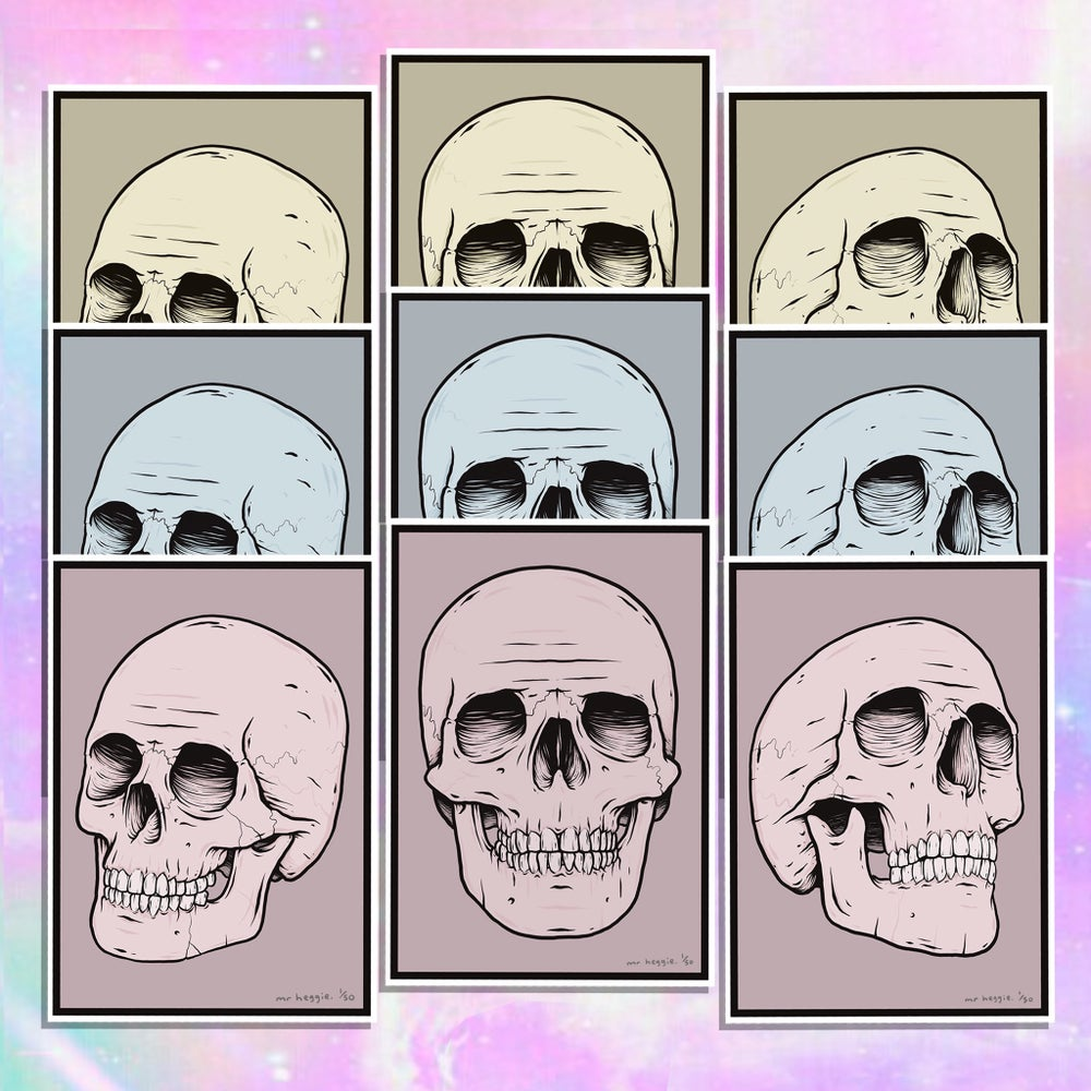 Image of The limited edition skull set - ALL 3 SETS
