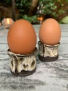 Egg cups, winter