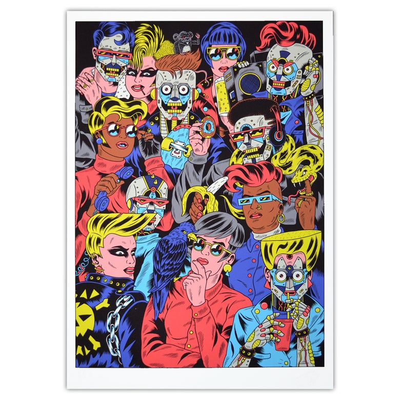 Image of ROCK & CHANSON Giclée Print