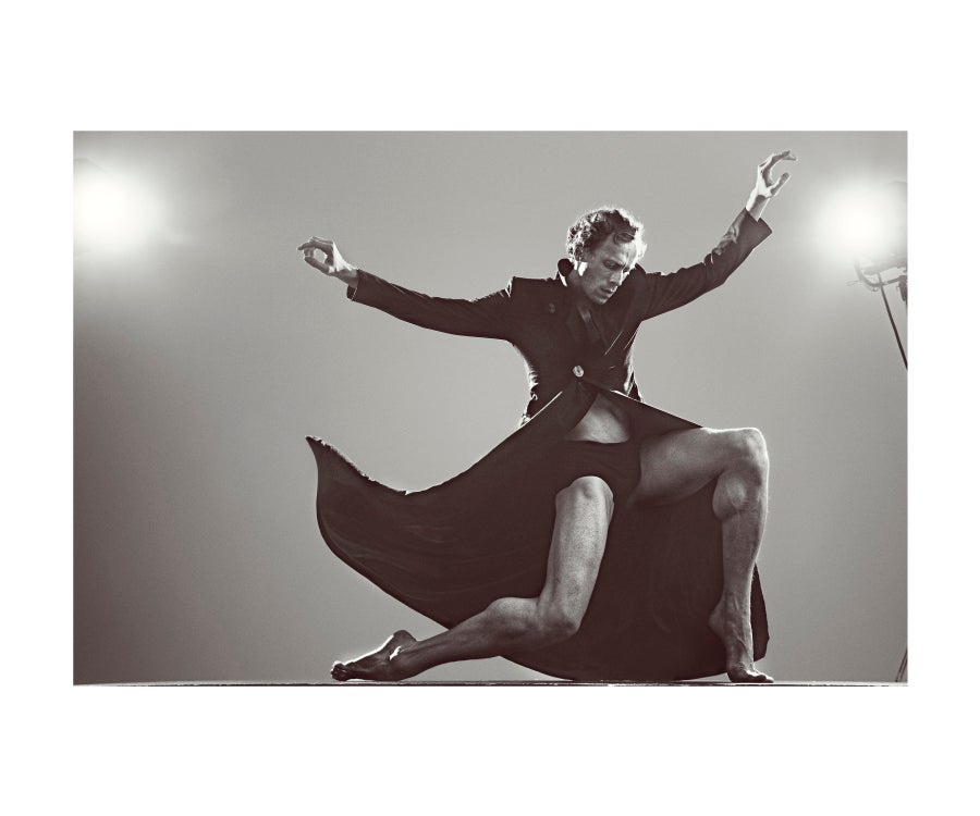 """Image of Edward Watson, Principal of The Royal Ballet, from the series """"The Language of the Soul"""""""