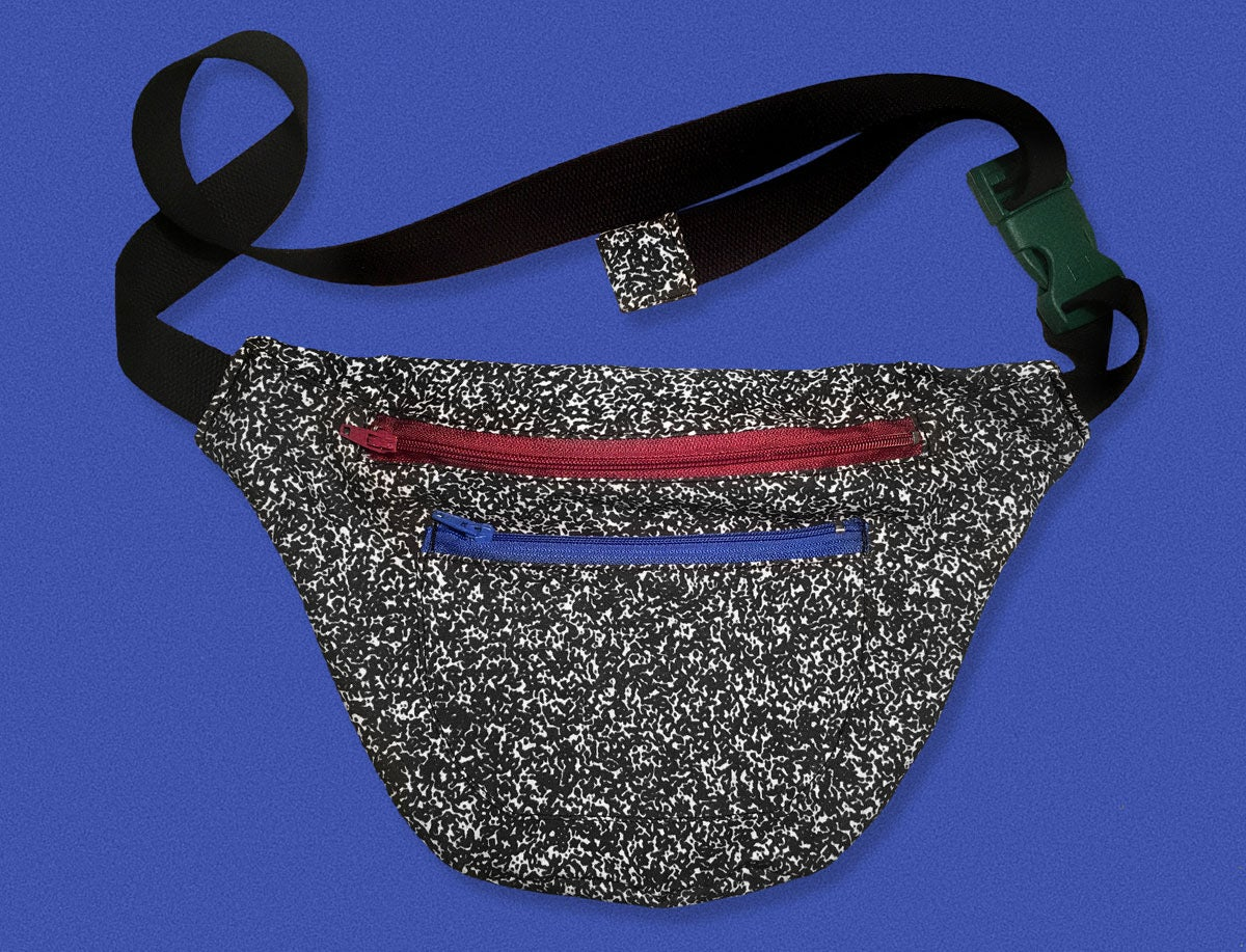 Image of NOISE WAIST BAG WITH COLOR DETAILS
