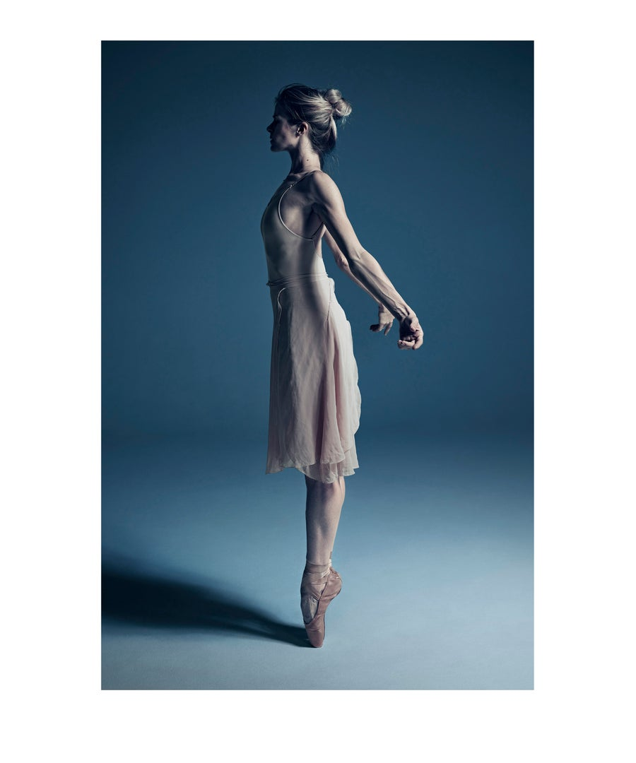 "Image of Heather Ogden, Principal of the National Ballet of Canada, from the series ""What Lies Beneath""."