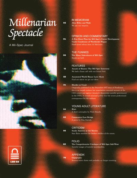 Image of SLP-032: MILLENARIAN SPECTACLE