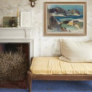 Image of Swedish Seascape Oil Painting,  Bertil Brolin