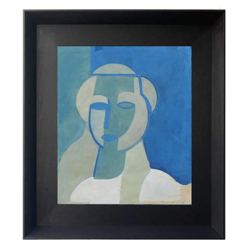 Image of 1961, Portrait of a Girl BERTIL BERNTSSON (1921-2002)