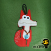 Fox bag charms ��   Ornaments -JUST ADDED