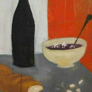 Image of 1946, French Still Life Painting, Jacques Berland (1918-1999)