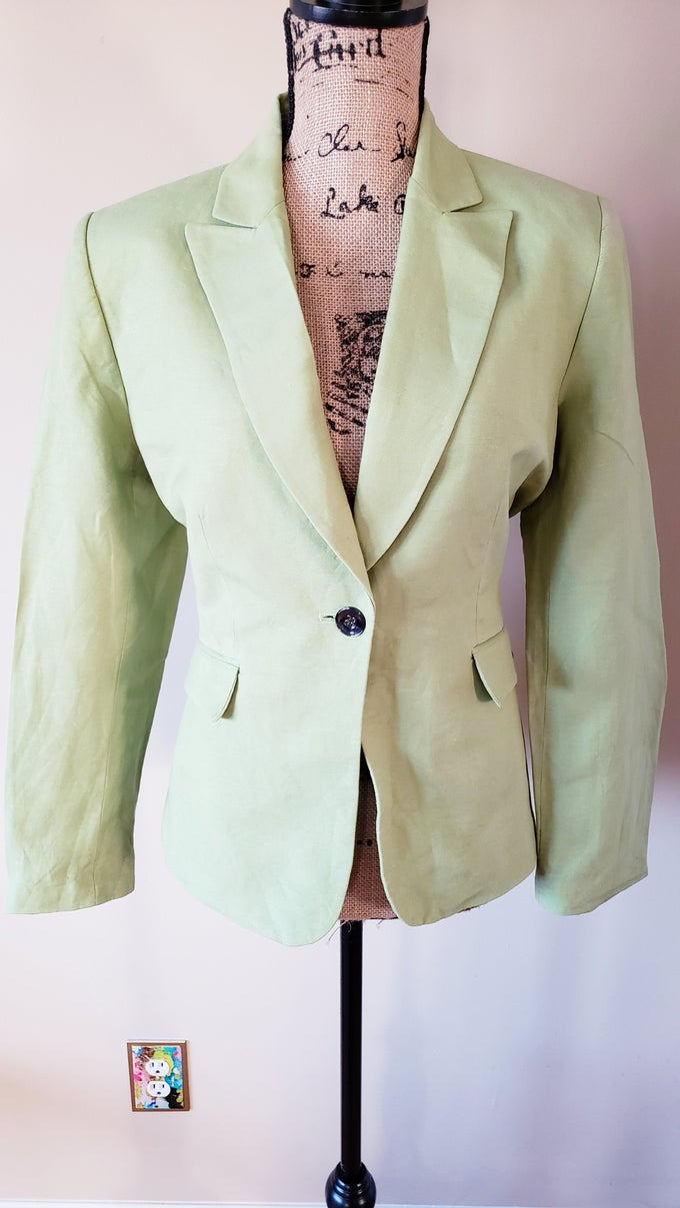 Image of Lime Green Blazer