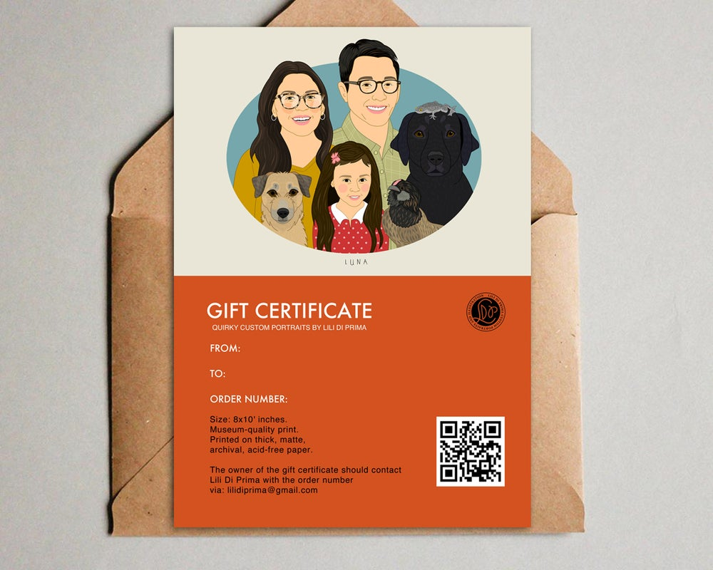 Image of Gift certificates.  20% OFF