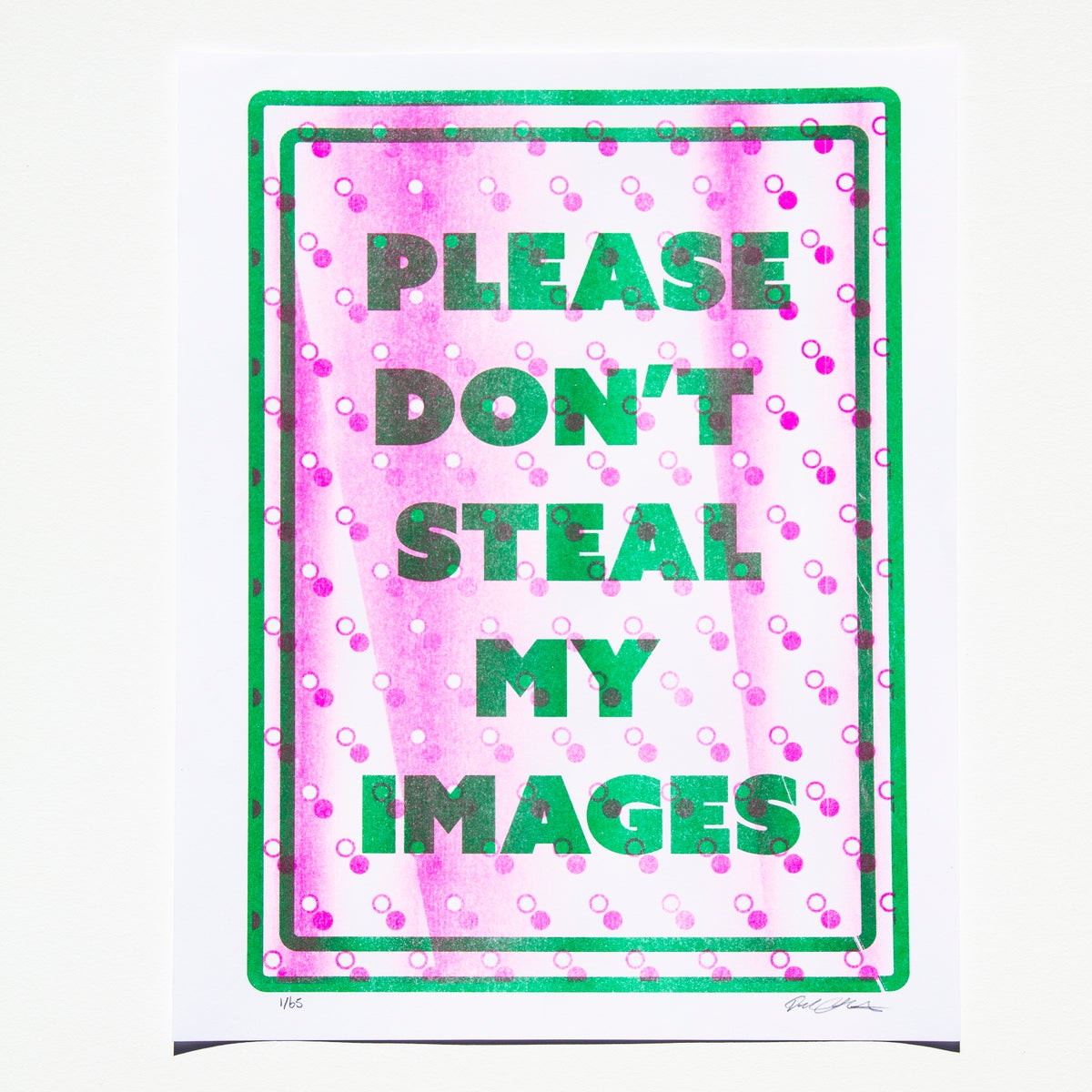 Image of Please Don't Steal My Images