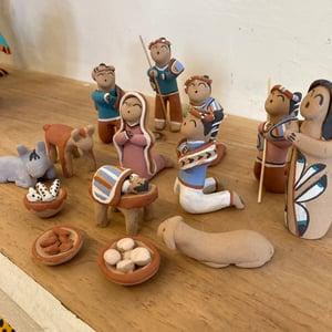 Image of Taos Pueblo Nativity