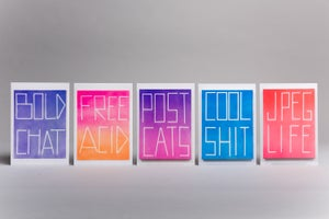 Scott Reeder Greetings Card Set