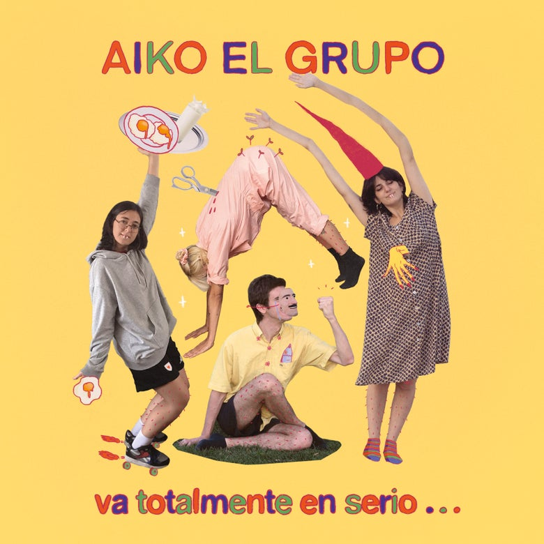 "Image of AIKO EL GRUPO - Va Totalmente En Serio... (Limited 10"" Orange Vinyl Mini-LP/MP3s)"