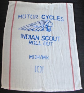 Image of Indian Scout 101 'Hog Rag'