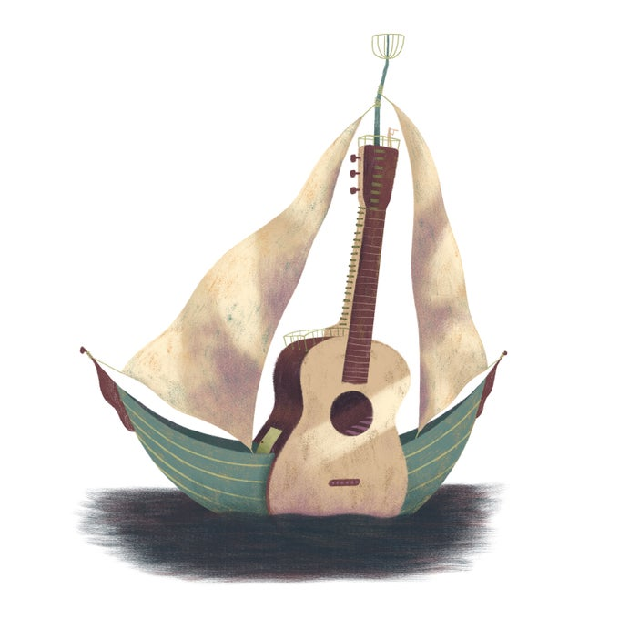 Image of Guitar Boat