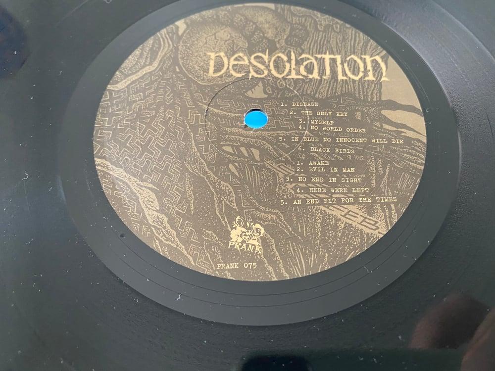 "Image of DESOLATION ""S/T"" LP"