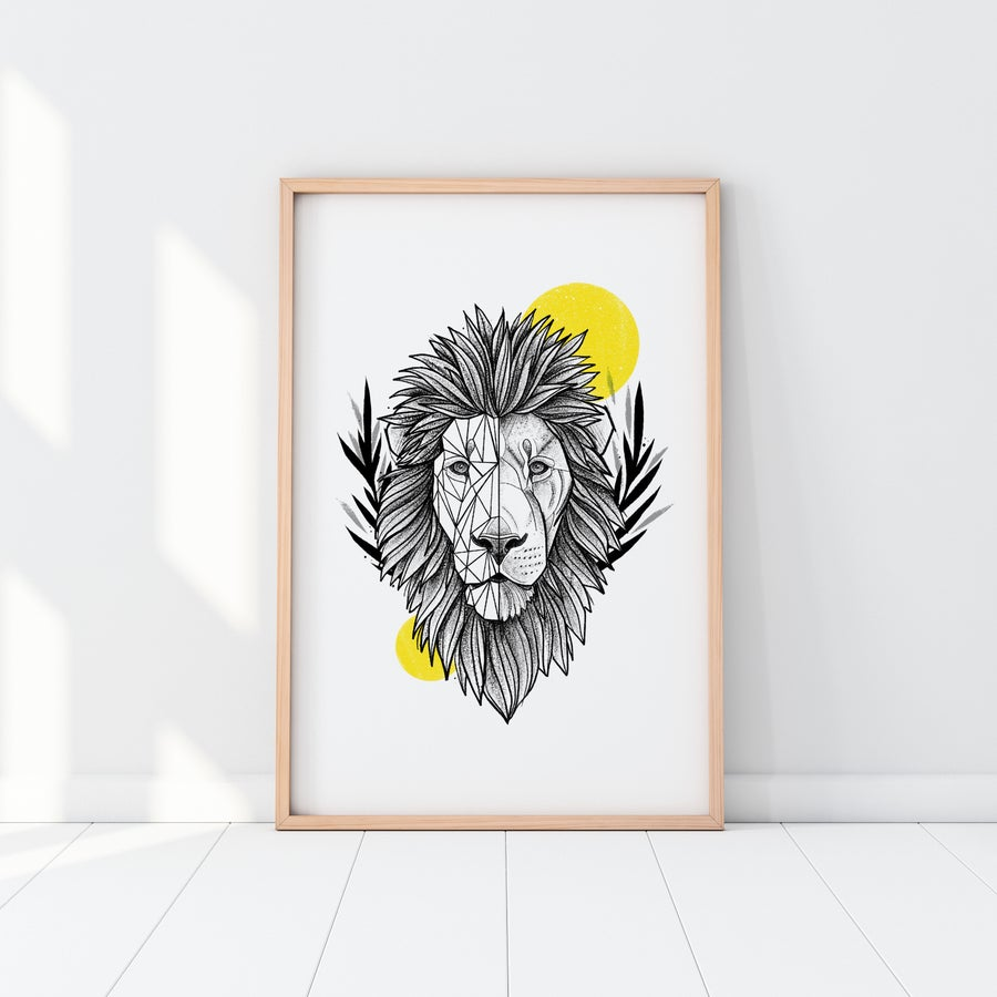 Image of PRINT LION