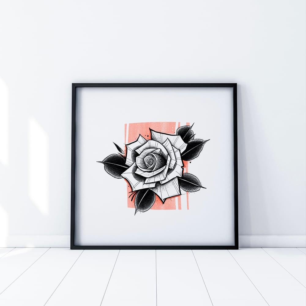 Image of PRINTCLASSIC ROSE