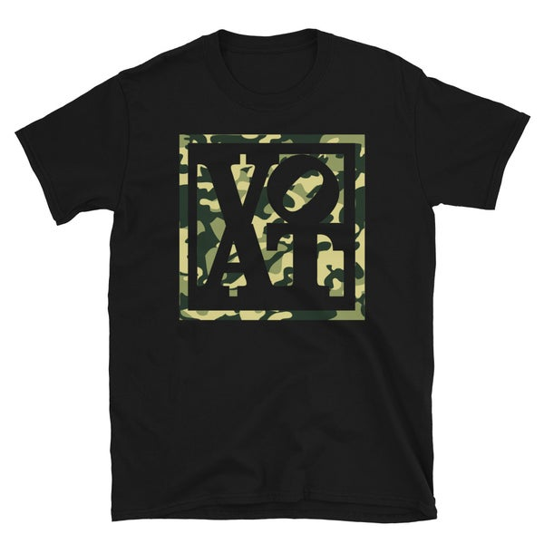 Image of VOAT(GREEN)CAMOBLOCK