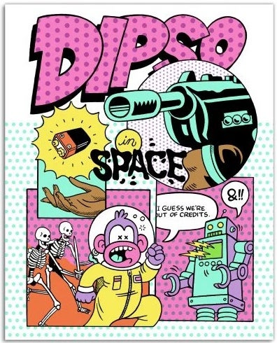 Image of Dipso in Space