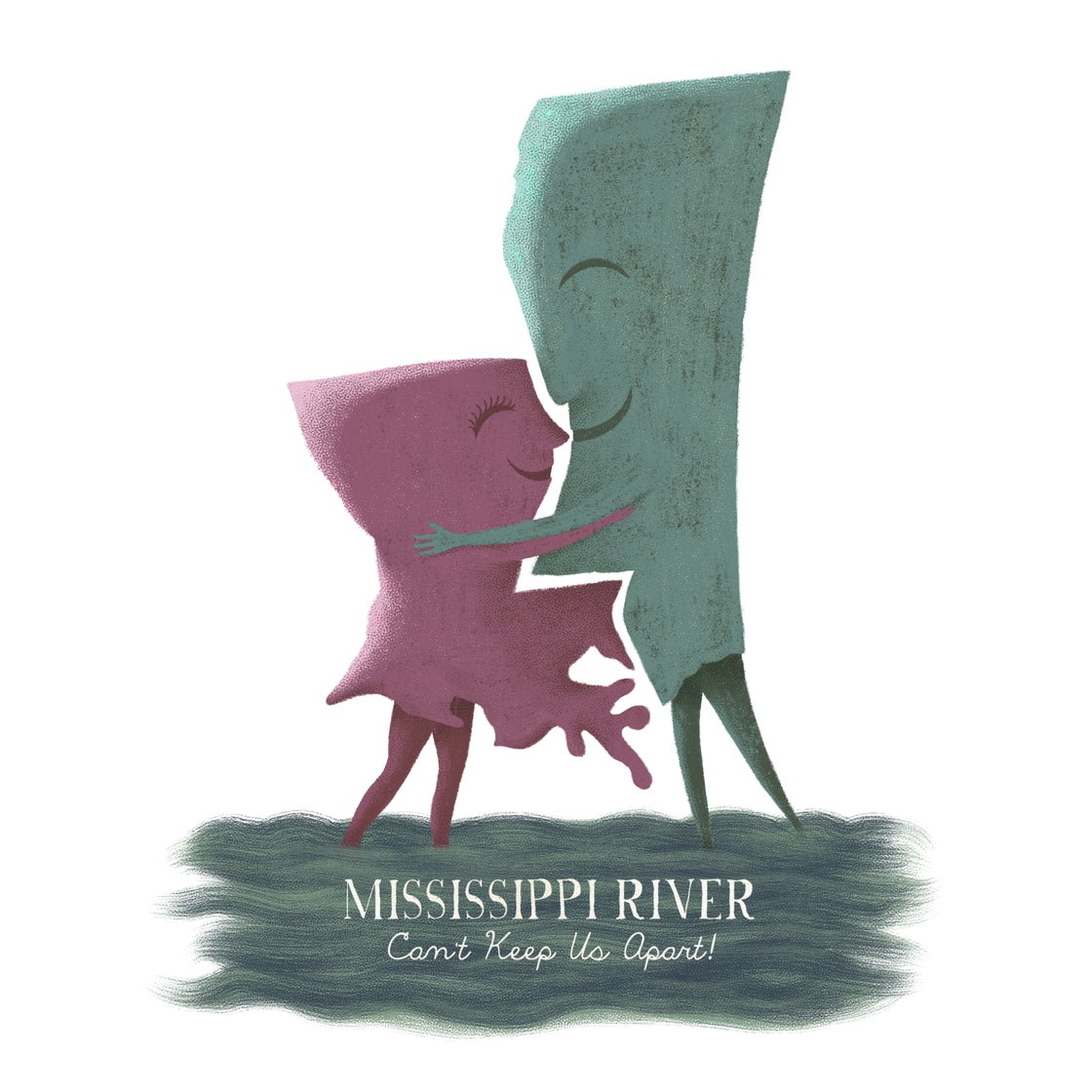 Image of Louisiana Woman, Mississippi Man