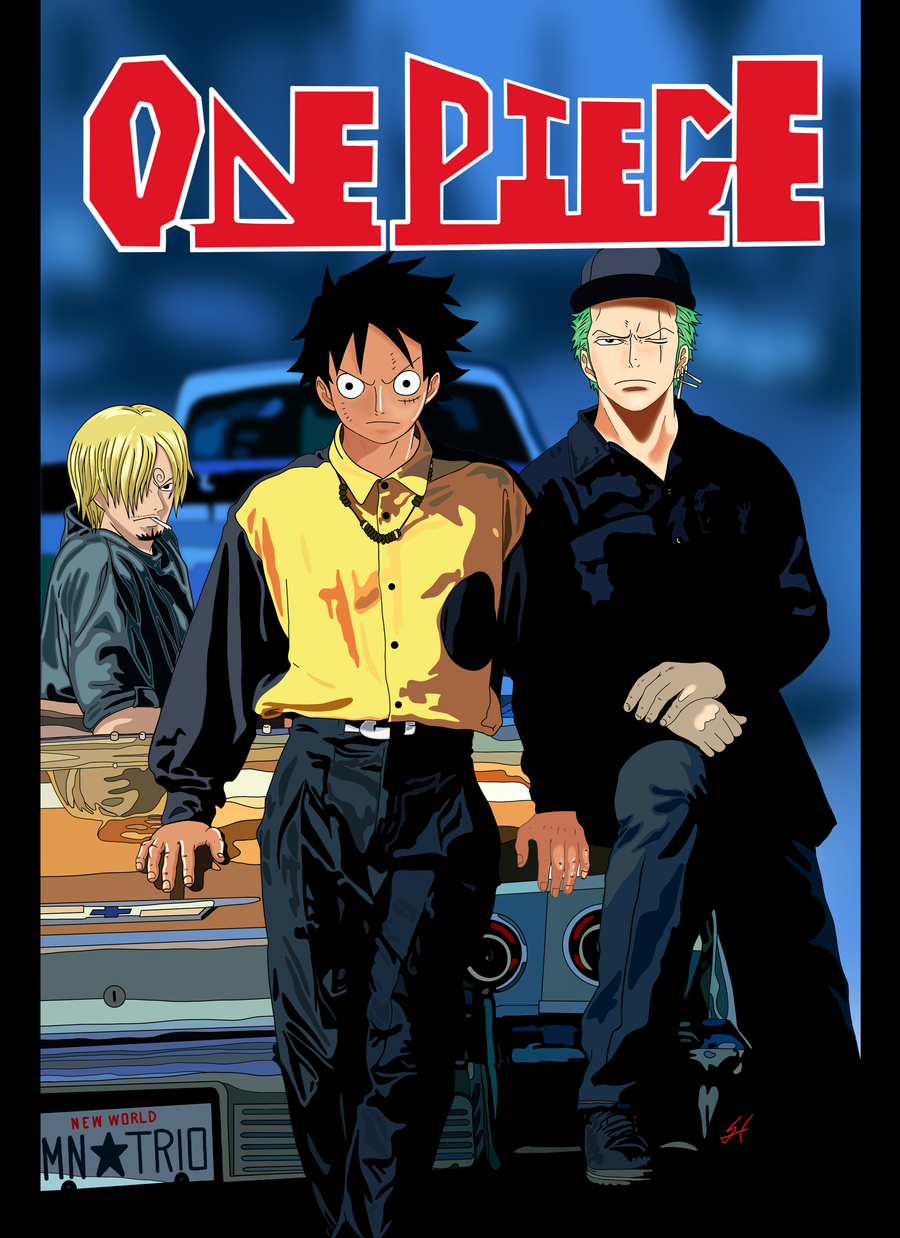 Image of One Piece N The Hood