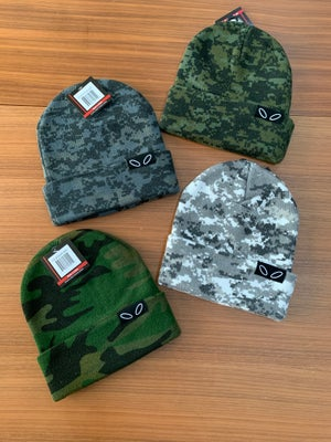 Image of Groovy Camo Knit Beanies