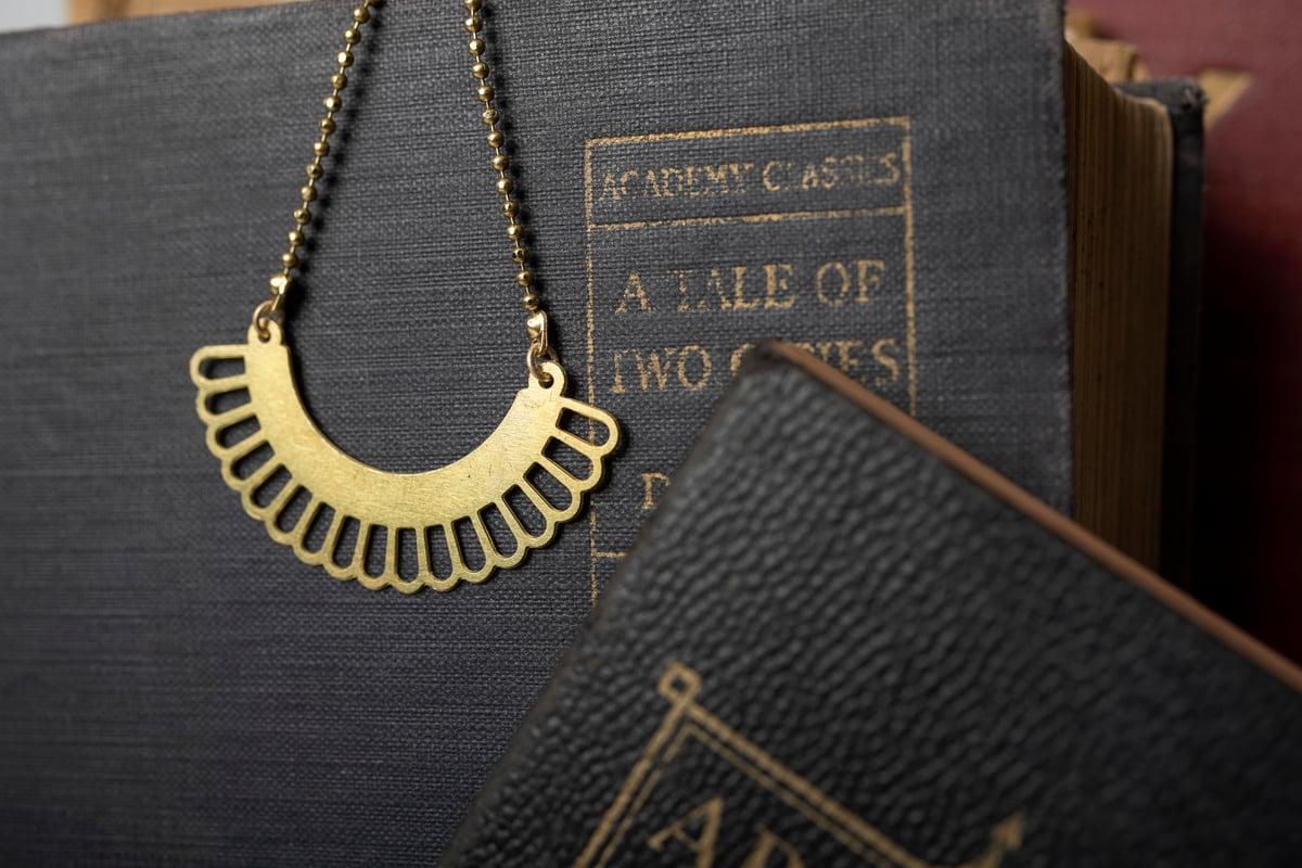 Image of Brass RBG Collar #3