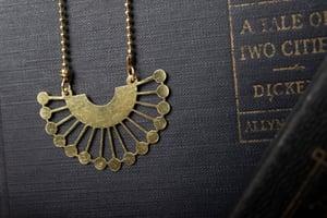 Image of Brass RBG Collar #1