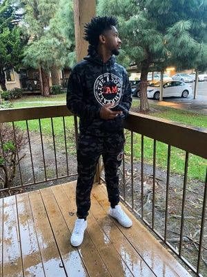 Image of Limited Edition Black Camo Sweatsuit