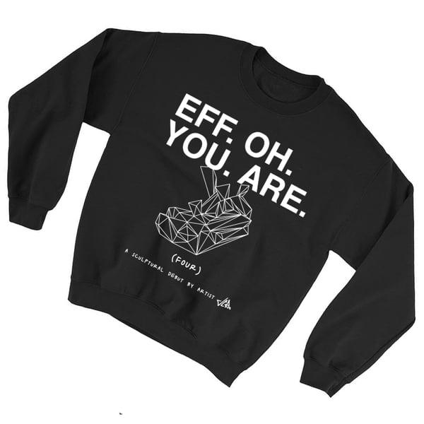 Image of JCRo - F.O.U.R. Merch - Crewneck Sweatshirt