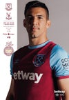 West Ham United v Crystal Palace 16/12/20 * Including uk postage