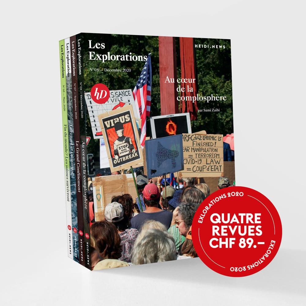 Image of Les Revues des Explorations 2020