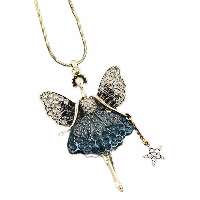 Image of Vintage Style  Fairy Necklace