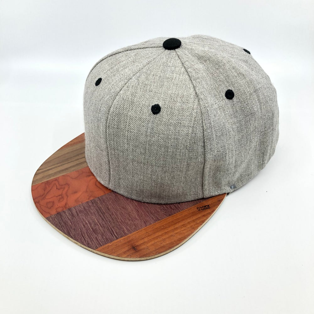 Image of Casquette Snapback Gris