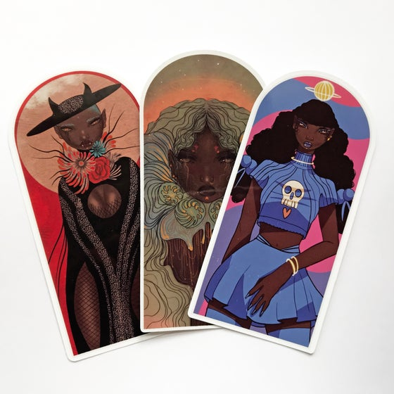 Image of Pack of 3 large stickers