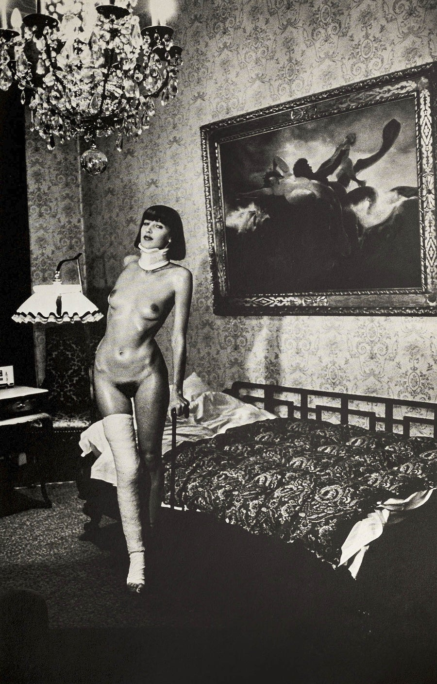 Image of Helmut Newton, Jenny Kapitän - Pension Dorian, Berlin 1977