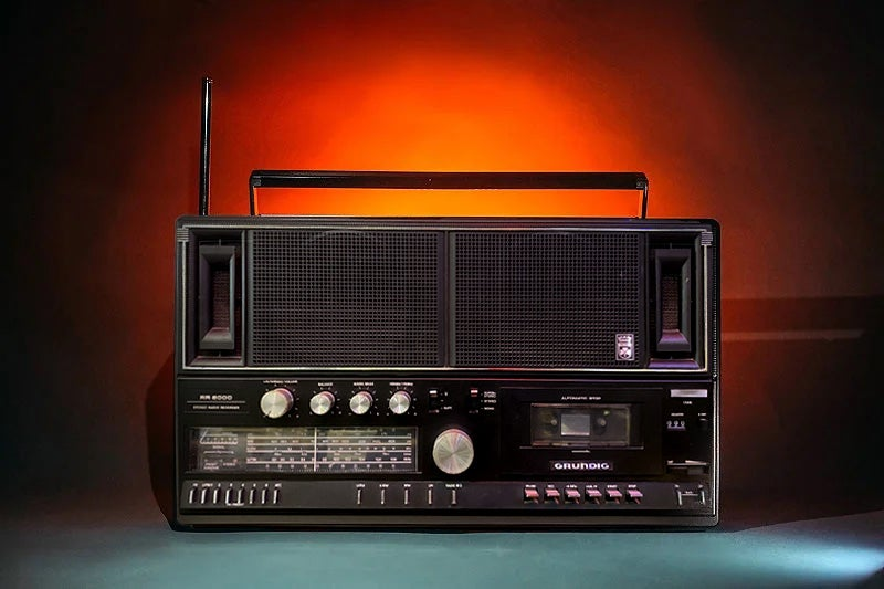 Image of GRUNDIG RR200 B (1983) BLUETOOTH BOOMBOX