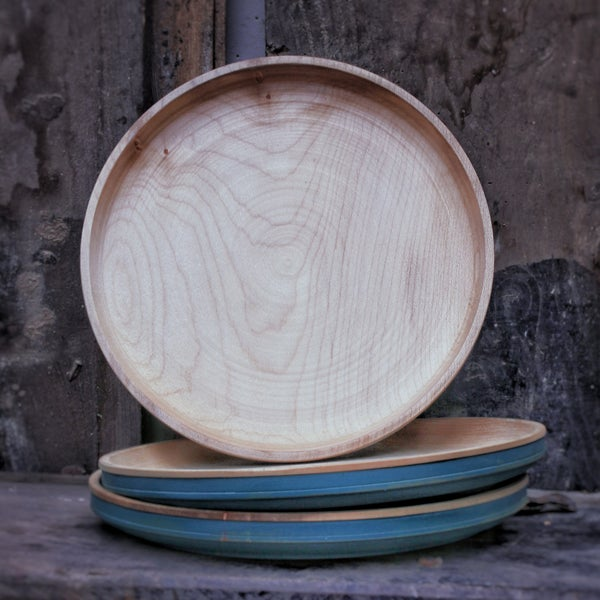 Image of Deep Sycamore Plate Large