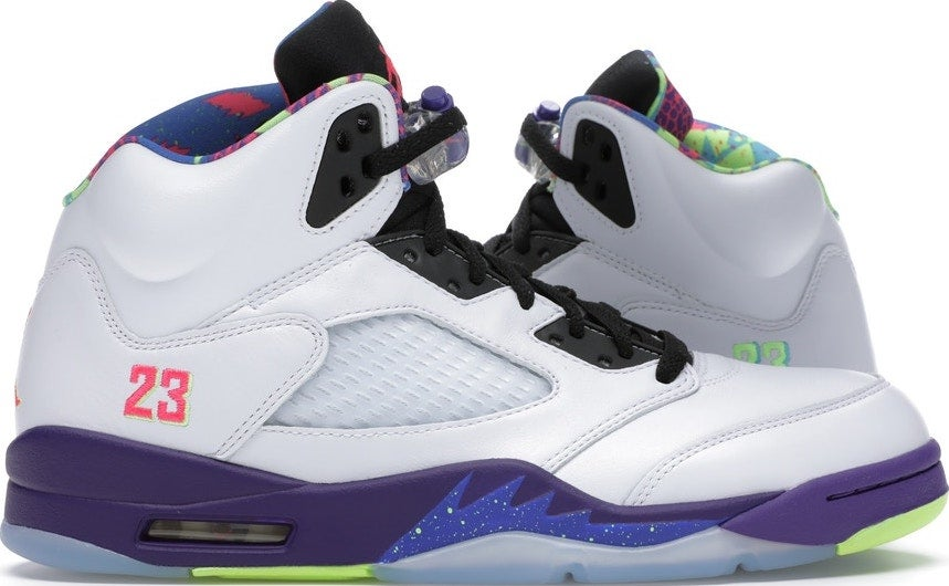"Image of Nike Air Retro Air Jordan 5 ""Bel Air Alternate"" Sz 9"