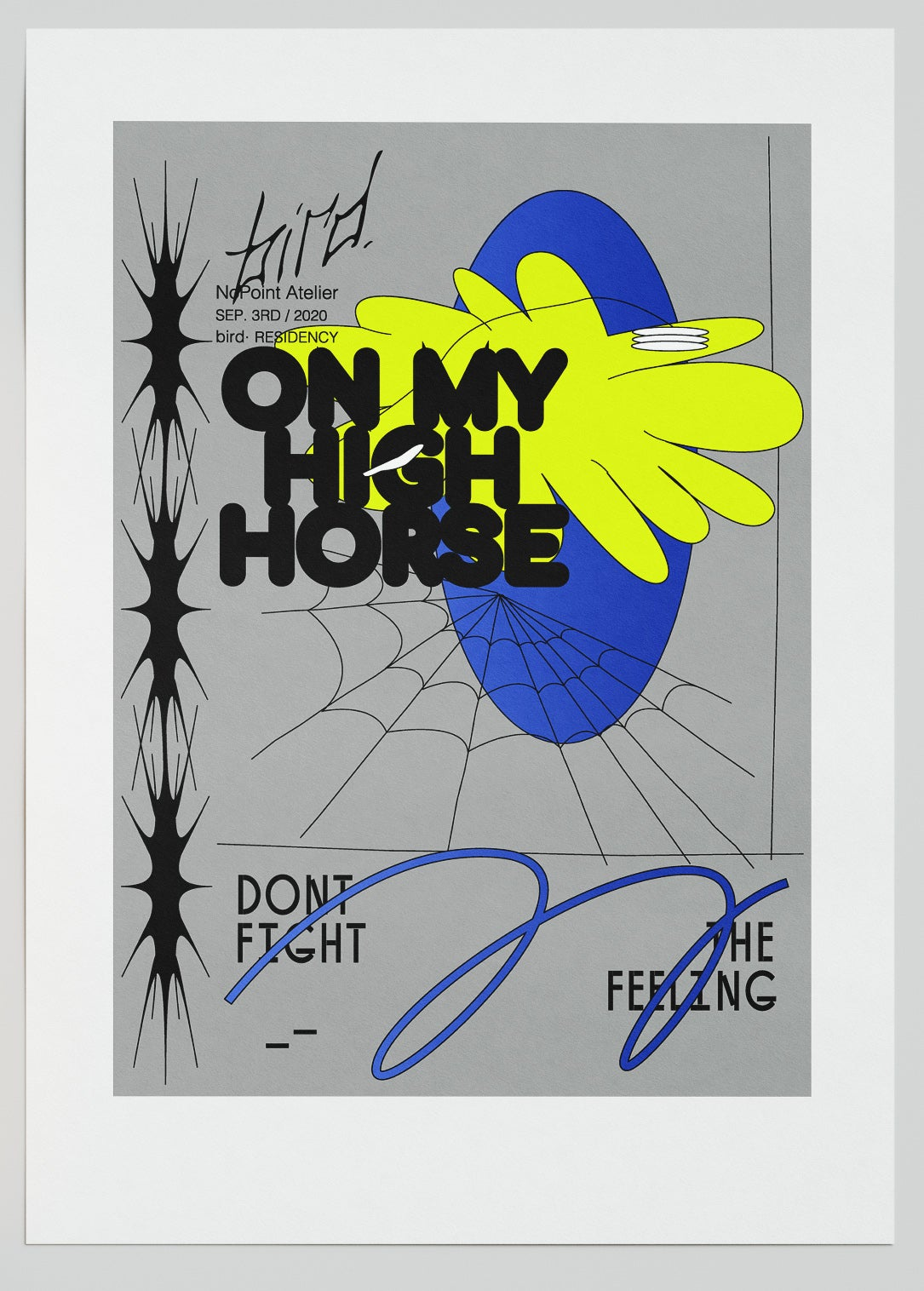 Image of DONT FIGHT THE FEELING / DONNA DIMITROVA