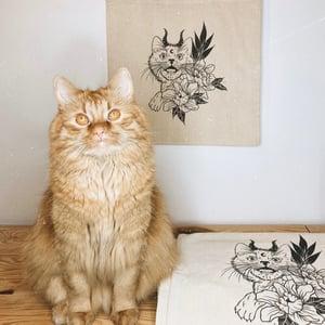 Image of Tote Bag Demon Cat