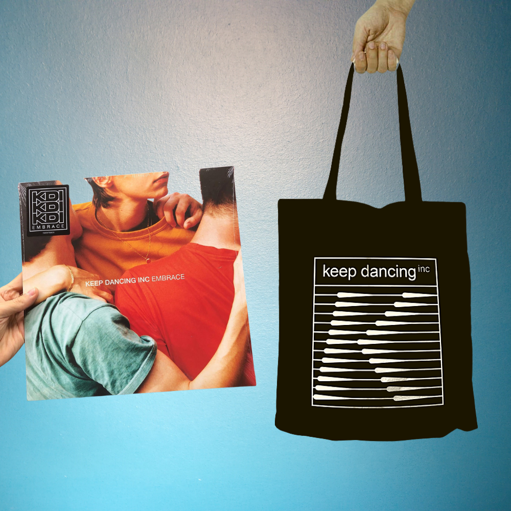 Image of Pack - Vinyle Embrace + Tote bag