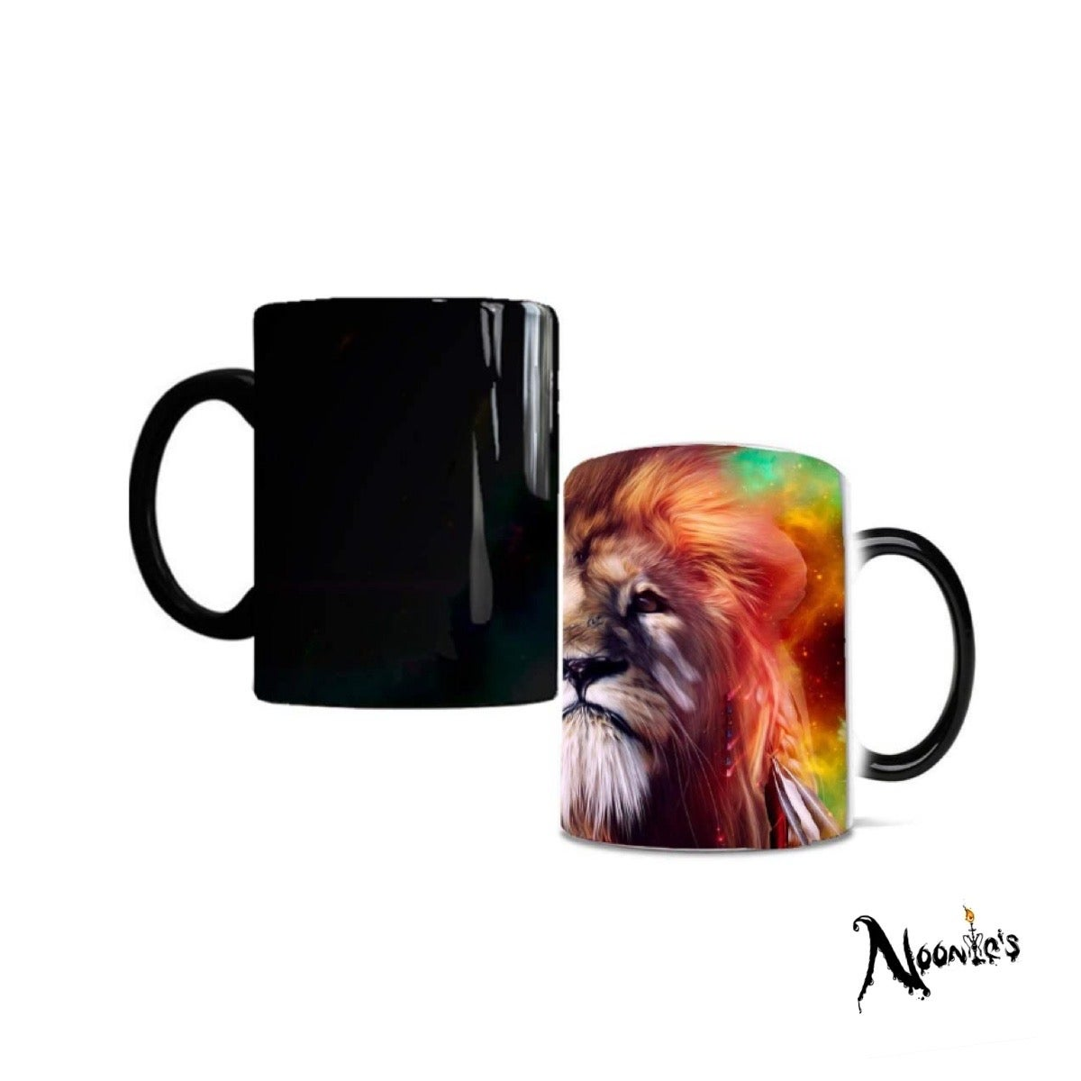 Image of Hot lion drinking mug
