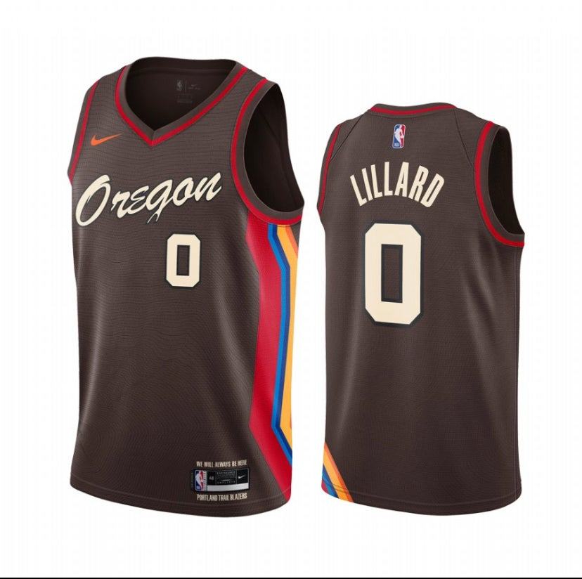 Image of Damian Lillard blazers city jerseys Lo